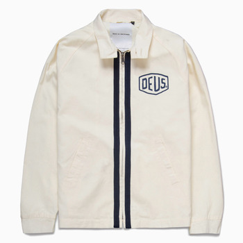 데우스리치 헤링턴자켓RICHIE HARRINGTON JACKETOFF WHITE