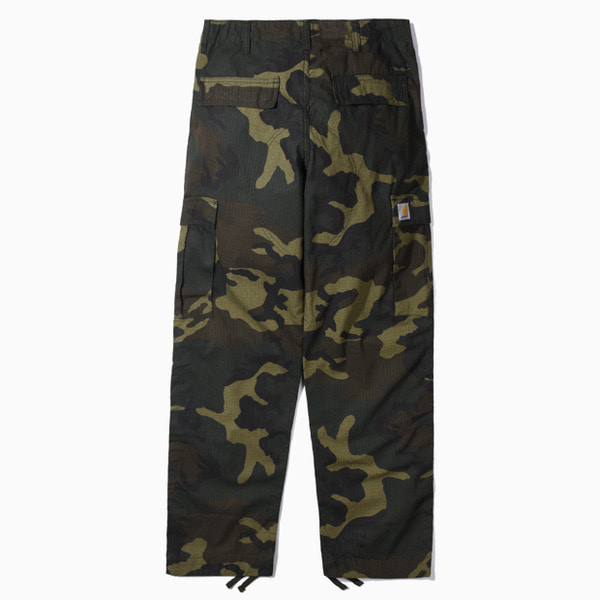칼하트WIP레귤러 카고팬츠 콜롬비아REGULAR CARGO PANT COLUMBIA(2)CAMO LAUREL RINSED