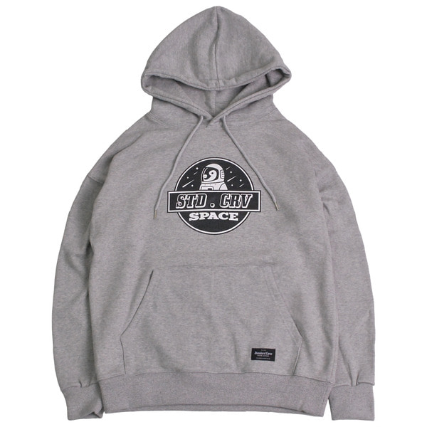 스탠다드커브STV. SPACE PENGUIN HOODY GRAY