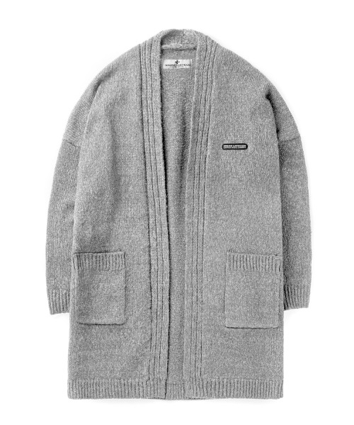 세인트페인SP SLOAN LONG CARDIGAN-GRAY