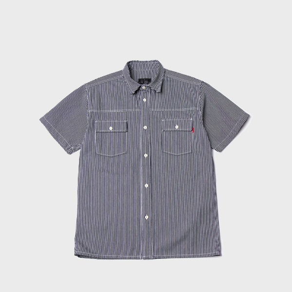 더스토리HICKORY HALF SHIRT (Navy)