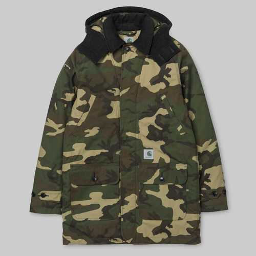 칼하트WIP 스미스코트SMITH COATCAMO LAUREL